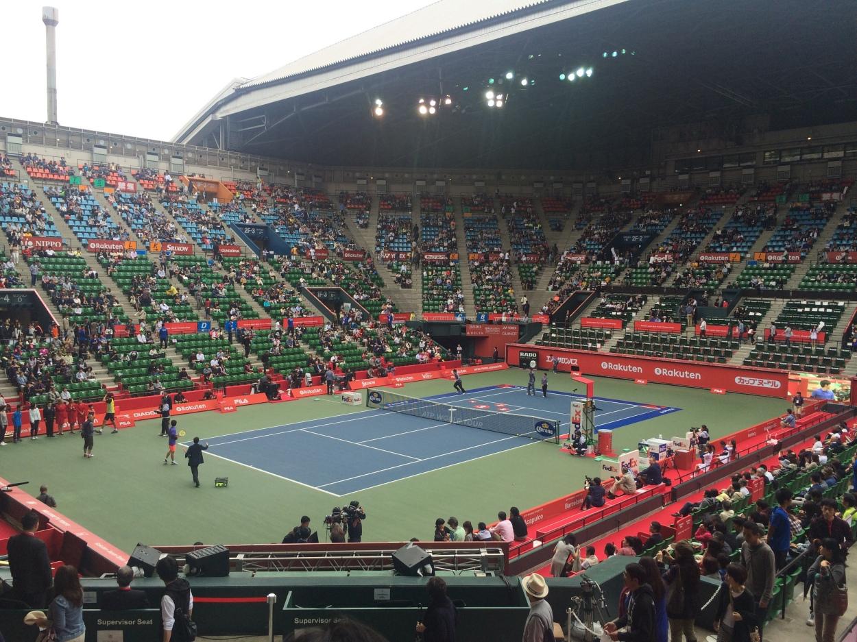 ジャパンオープンの出場予定選手も出てた Style Of Tennis